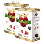 Apple + raspberry juice
