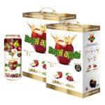 Apple + cherry juice