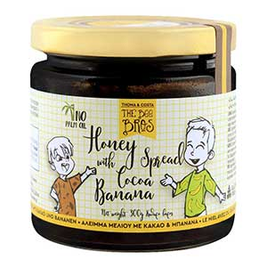 Honey-with-Cocoa-and-Banana-spread